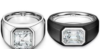 Tiffany Launches Engagement Rings for Men