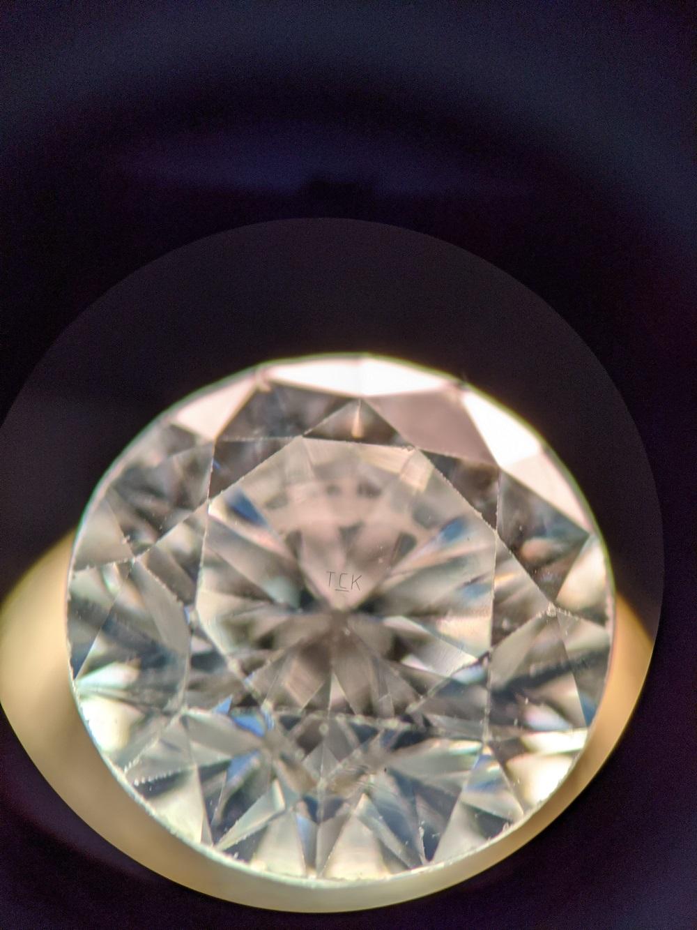 Opsydia technology advances to secure identity of melee diamonds