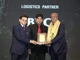 BVC Logistics Felicitated By GJC For 60 Years of Industry Elevation at National Jewellery Awards 2021